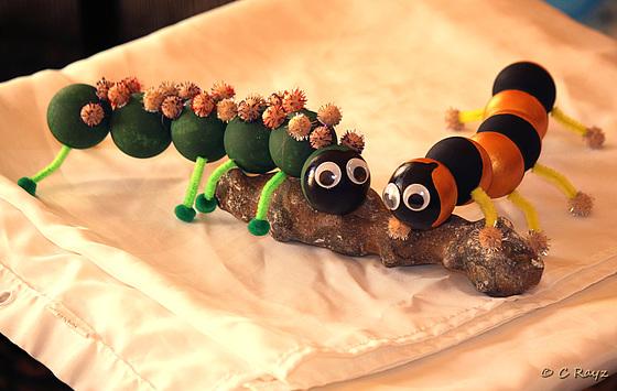 Gigantic Rock Eating Caterpillars