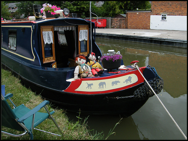 Rosie and Jim at Oxford