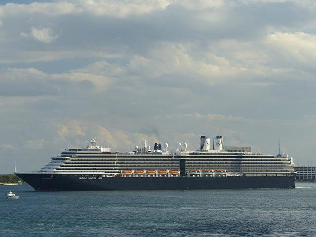 Westerdam at Port Everglades - 25 January 2014