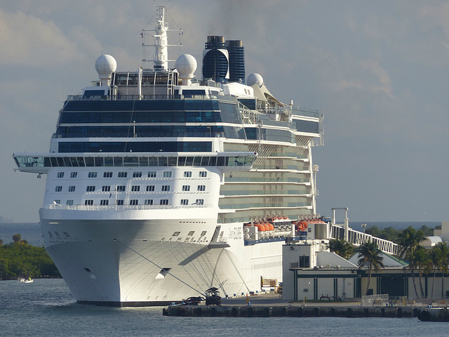 Celebrity Eclipse at Port Everglades - 25 January 2014