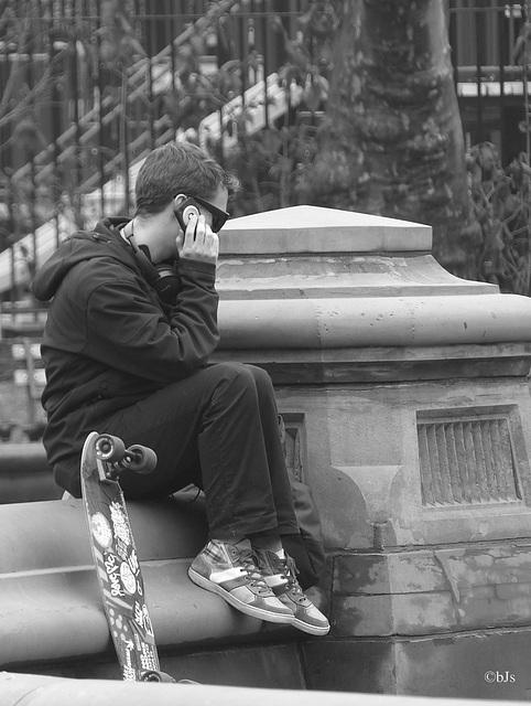 """""""I'm a poor lonesome skateboy..."""""""