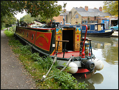colourful canalside