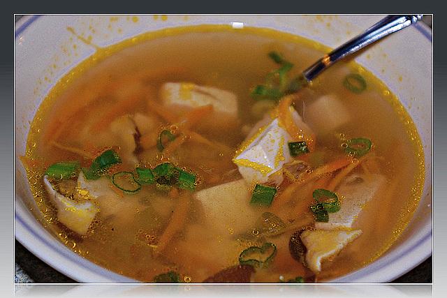 Shiitake Mushroom & Tofu soup