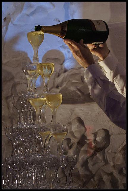 Champagne pour tous!