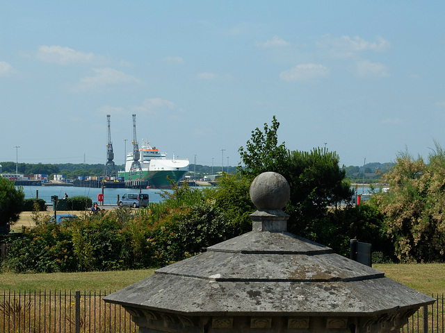 Anvil Point at Marchwood - 14 July 2013