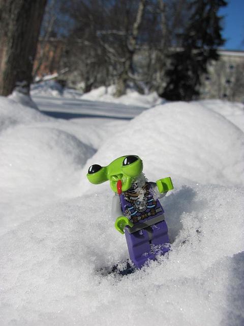 Alien winter fun
