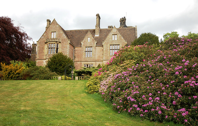 Garden Facade, Alton Manor, Derbyshire