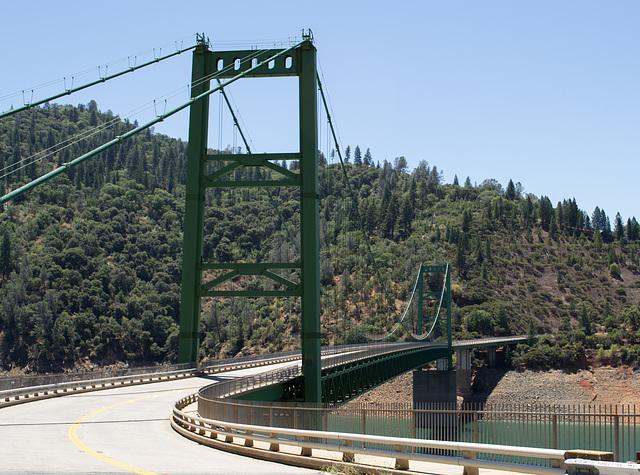 Oroville Bidwell Bar Suspension Bridge (0146)