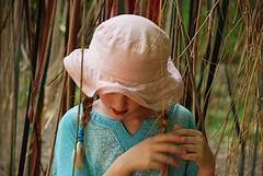 La petite fille au charme flou