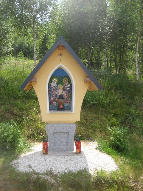 Greutschach, Bildstock beim Holzbauer