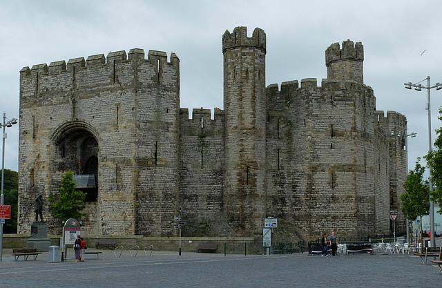 Castell Caernarfon/Caernarfon Castle (2) - 30 June 2013