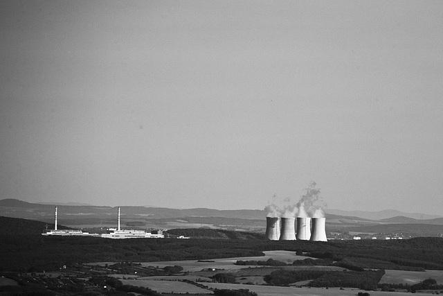 atom power plant