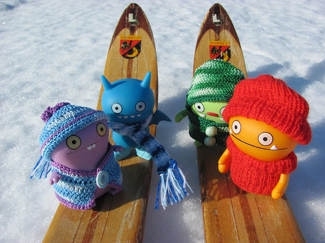 Uglies on a skiing trip