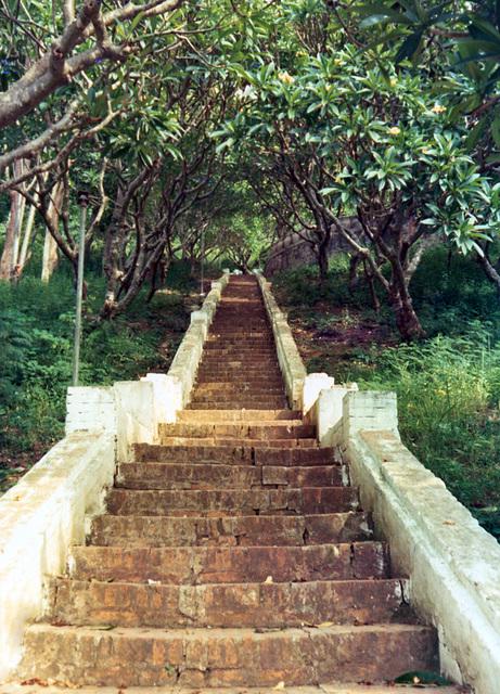Wat Chom Si Stairway