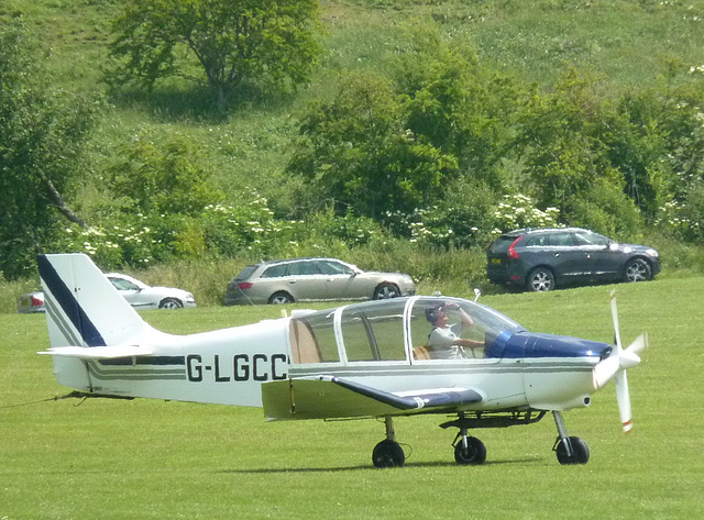 G-LGCC at Dunstable - 6 July 2013