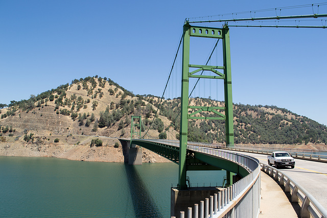 Oroville Bidwell Bar Suspension Bridge (0134)