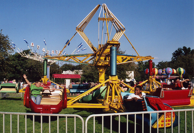 The Scrambler Ride at the Queens County Farm Museum Fair, Sept. 2006