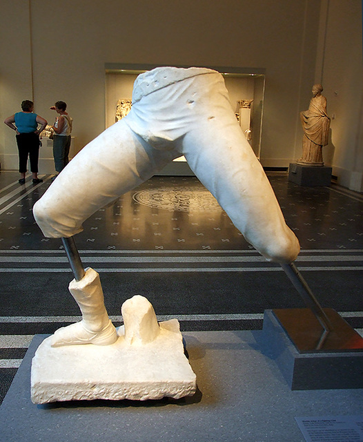 visual analysis of the marble statue