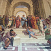 The School of Athens Fresco by Raphael in the Vatican Museum, Dec. 2003