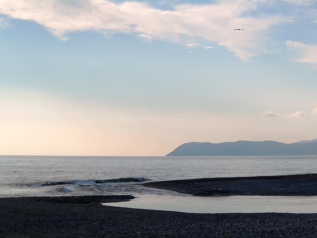 Costa Ligure vista da Albenga