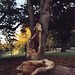 Broken Tree in Prospect Park Near the Lake, Oct. 2006