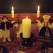 Candles and Candlesticks at the Broken Bridge Twelfth Night Celebration, Dec. 2006