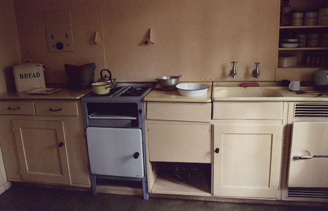 Ipernity 1950 S Prefab House S Kitchen In The Museum Of