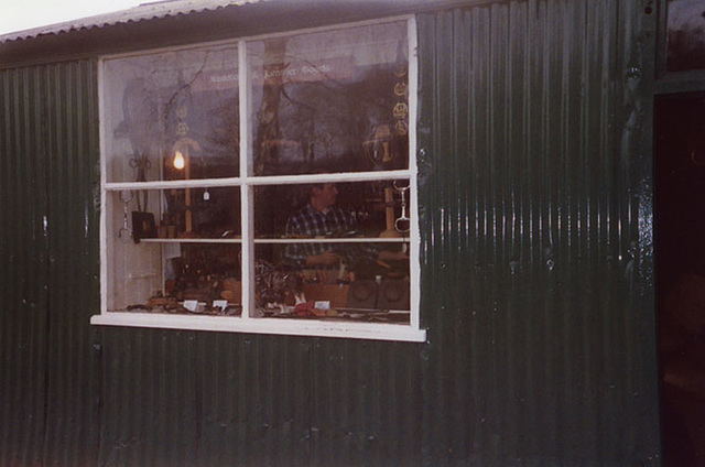 Saddlemaker in the Museum of Welsh Life, 2004