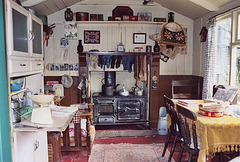 Shed Interior, Rhyd-y-car House, 1955, in the Museum of Welsh Life, 2004