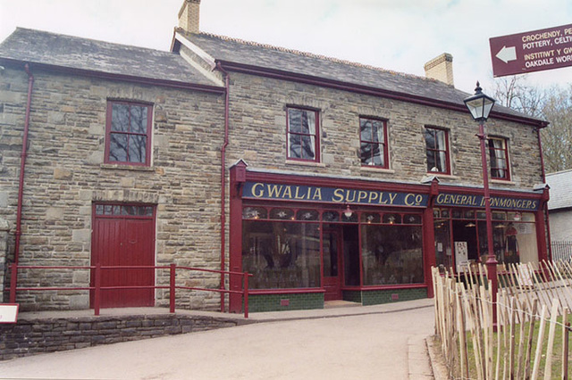Exterior of the Gwalia Stores, 2004