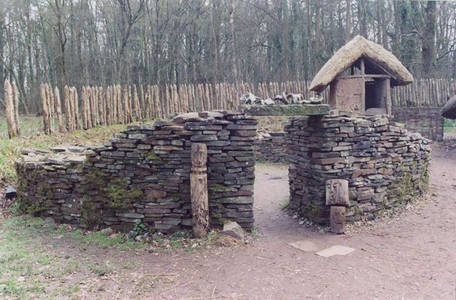 Dismantled Stone Round House, 2004