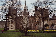 Cardiff Castle, March 2004