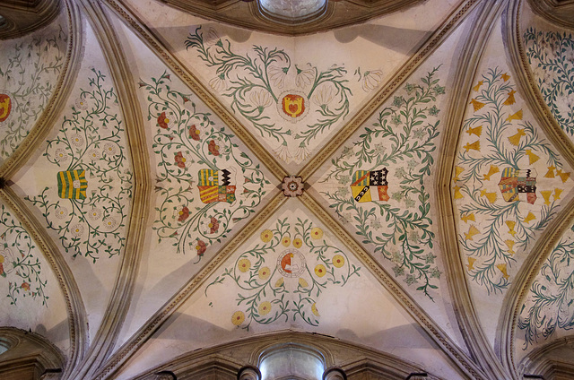 Nave ceiling