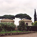 The Farnese Gardens on the Palatine Hill in Rome, Dec. 2003