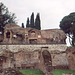 View of the Palatine Hill from the Forum in Rome, Dec. 2003