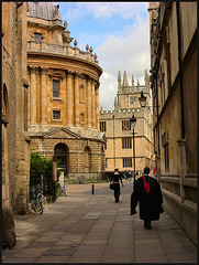 to Radcliffe Square