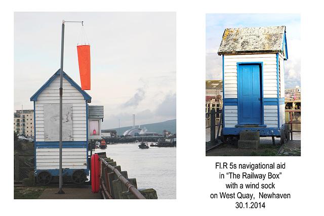 The Railway Box light -Newhaven - 30.1.2014