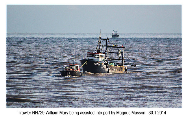 William Mary & Magnus Musson - Newhaven - 30.1.2014