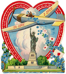 Statue of Liberty Valentine