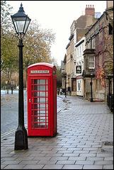 Oxford telephone box
