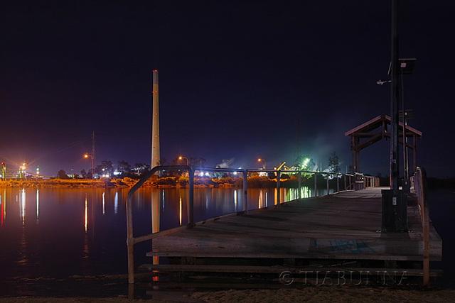 Pirie by night