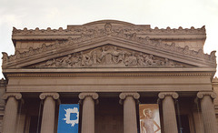 Pediment of the Brooklyn Museum, Nov. 2006