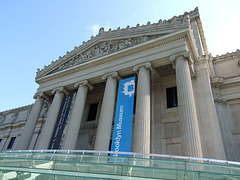 Detail of the Brooklyn Museum's Facade, August 2007