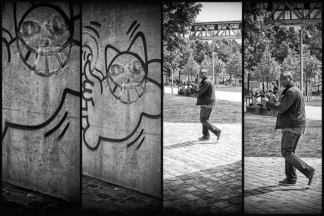Cartoon History, Porte de la Villette, Paris, 24 April 3014