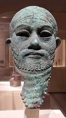 Head of a Ruler in the Metropolitan Museum of Art, July 2007