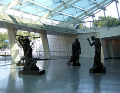 The Main Entrance and Rodin Sculptures in the Brooklyn Museum, August 2007
