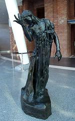 Pierre de Wiessant by Rodin in the Brooklyn Museum, August 2007