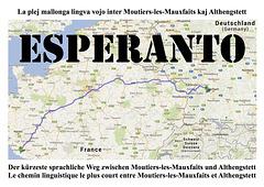 02 — La plej mallonga lingva vojo Moutiers-Althengstett