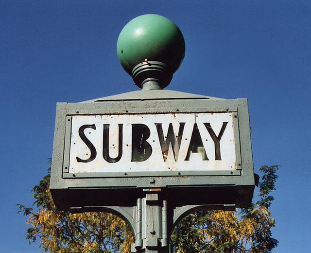 190th St. Subway Sign, Oct. 2006