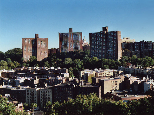 View of Washington Heights from Fort Tryon Park , Oct. 2006